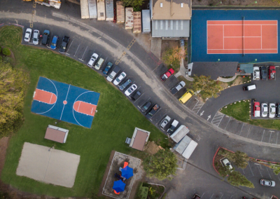 top overview parking